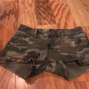 Brand new without tags camouflage, rugged shorts